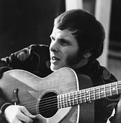 1960s Candids Posters - American Rock Musician Del Shannon Poster by Everett
