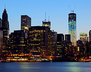 Lower Manhattan Photos - American Spirit by Mitch Cat