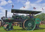 Denton Prints - American steam roller Print by Robert Ponzoni