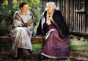 Grandma Photos - Americana - People - Everything was better in the the old country by Mike Savad