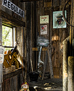 Wood Planks Metal Prints - Americana 2 Metal Print by Peter Chilelli
