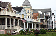 Old Houses Metal Prints - Americana at the Shore Metal Print by John Rizzuto