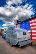 Trailers Photos - Americana by Peter Tellone