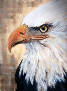 Pride Paintings - Americas Pride by Barbi  Holzmann