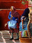 San Miguel Photos - Amigas by Olden Mexico