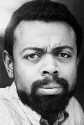 Black Arts Framed Prints - Amiri Baraka (1934-    ) Framed Print by Granger