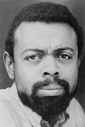 Van Dyke Acrylic Prints - Amiri Baraka Everett Leroi Jones B Acrylic Print by Everett