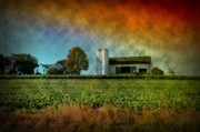 Storm Prints Prints - Amish Country Farm Print by Bill Cannon