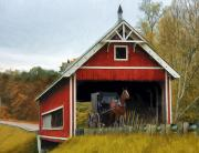Amish Metal Prints - Amish Era Metal Print by Tom Griffithe