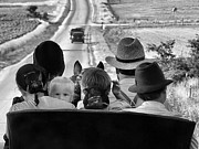 Artography Photos - Amish Family Outing II by Julie Dant