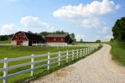 Amish Farms Prints - Amish Farm Print by Gary Bydlo