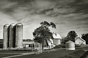 Silos Posters - Amish Farmstead II Poster by Steven Ainsworth