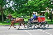 Amish Photographs Art - Amish Merchant 5671 by Guy Whiteley