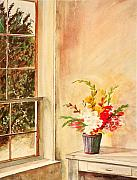 Harmon Montgomery - Amish Window With a...
