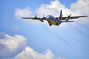 C130 Prints - Amongst the Clouds Print by Jason Politte