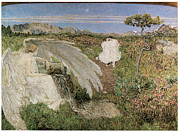 Angel Art Paintings - Amor at the Fountain of Life by Giovanni Segantini
