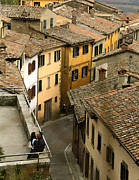 Yearning Prints - Amore in Cortona Print by Al Hurley