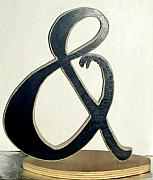 Music Sculptures - Ampersand Adam and Asp by David G Wilson
