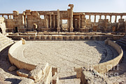Palmyra Photos - Amphitheater At Palmyra by Katrina Thomas