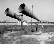 Antiquated Prints - Amplifiers, Bolling Field Print by Photo Researchers