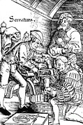 Historical Doctor Prints - Amputation, 1517 Print by Science Source