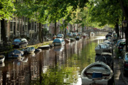 Amsterdam Canal Print by Joan Carroll