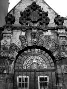Markomitic.ca Prints - Amsterdam Gate Black and White Print by Marko Mitic