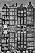 Relection Framed Prints - Amsterdam Reflections Framed Print by Bill Lindsay