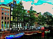 Amsterdam Photos - Amsterdam Riverside by Emily Allred