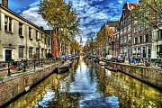 Clouds Prints - Amsterdam Print by Svetlana Sewell