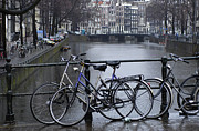 Amsterdam The Netherlands Print by Bob Christopher