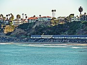 Clemente Photo Prints - Amtrak Surfliner Print by Traci Lehman