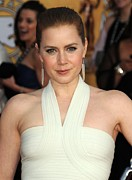 Amy Adams Framed Prints - Amy Adams At Arrivals For 17th Annual Framed Print by Everett