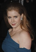 Diamond Earrings Framed Prints - Amy Adams At Arrivals For 22nd Annual Framed Print by Everett