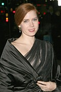 Diamond Earrings Framed Prints - Amy Adams At Arrivals For The 2008 Framed Print by Everett