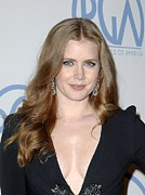 Drop Earrings Acrylic Prints - Amy Adams In Attendance For 22nd Annual Acrylic Print by Everett