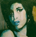 Songwriter  Painting Metal Prints - Amy Metal Print by Paul Lovering