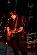 Concert Art - Amy Ray by Rashelle Brown