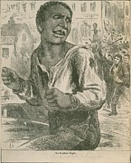 Racism Prints - An 1882 Engraving Entitled, The Print by Everett