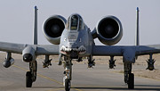 Gunship Prints - An A-10 Thunderbolt Ii Print by Stocktrek Images