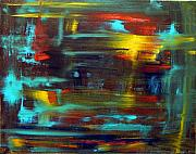 Obama Paintings - An Abstract Thought by Jack Diamond