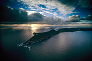 South Africa Prints - An Aerial View Of Cape Point, South Print by David Doubilet