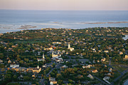 Chatham Prints - An Aerial View Of Chatham Print by Michael Melford