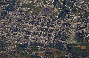 Earthquake Prints - An Aerial View Of Port-au-prince, Haiti Print by Stocktrek Images
