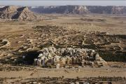 Republic Prints - An Aerial View Of Shibam With Its Many Print by Thomas J. Abercrombie