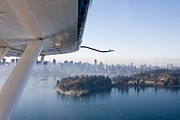 Vancouver Photos - An Aerial View Of Vancouver by Taylor S. Kennedy