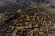 Afghanistan Photos - An Aerial View Over Afghanistan by Stocktrek Images