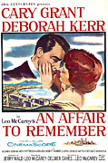 Cary Posters - An Affair To Remember, Cary Grant Poster by Everett