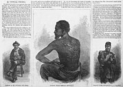 Racism Art - An African American Runaway Slave Named by Everett