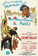 Caron Prints - An American In Paris, Gene Kelly Print by Everett